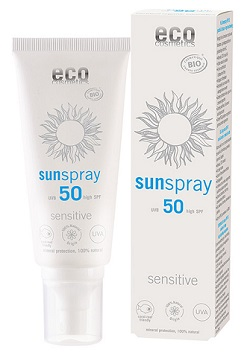 Eco Cosmetics Solspray Sensitive SPF 50